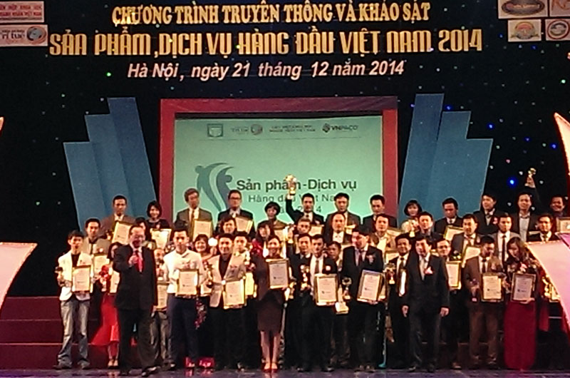 le-trao-giai-thuong-san-pham-dich-vu-hang-dau-viet-nam-2014