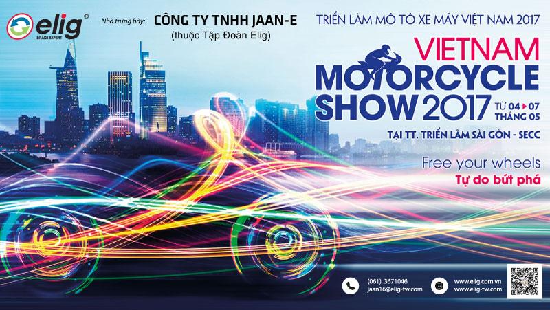 Triển lãm VIETNAM MOTORCYCLE SHOW tháng 05-2017 cho các huynh nè