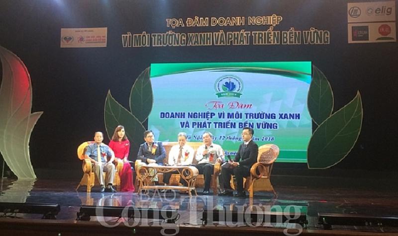 Buổi Tọa đàm Doanh Nghiệp vì mội trường với tổng giám đốc CHEN CHIN CHUAN (Tổng giám đốc Tập đoàn Elig)